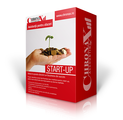 Asistenta Start-up Chronax